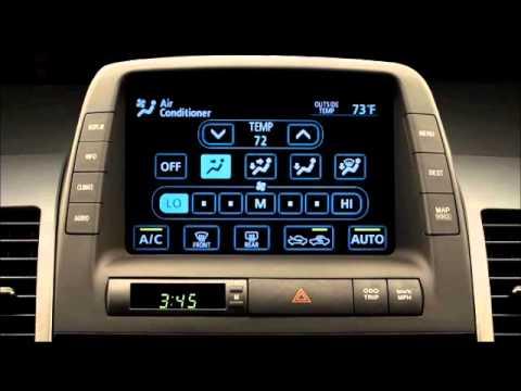 mando aire acondicionado prius