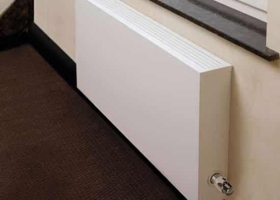 radiador de baja temperatura en pared