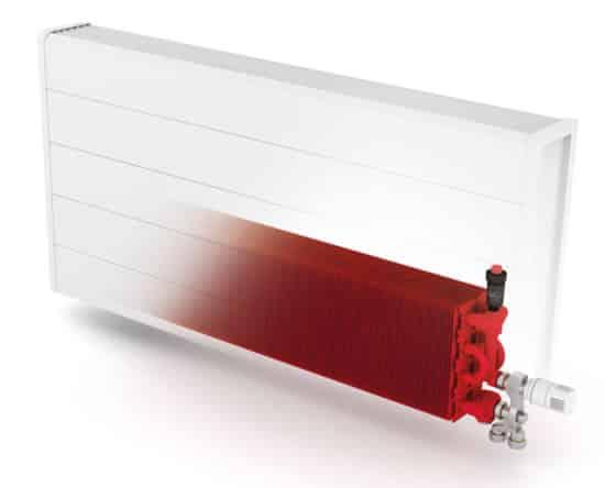 radiador de baja temperatura interior