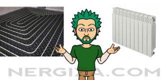 Radiadores o suelo radiante