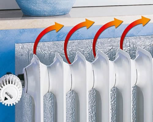 Paneles reflectantes para radiadores ahorran energ a - Radiadores electricos bajo consumo leroy merlin ...