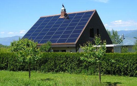 solar aislada paneles