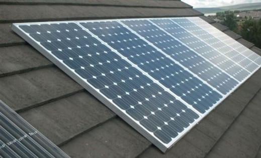 solar conectada paneles