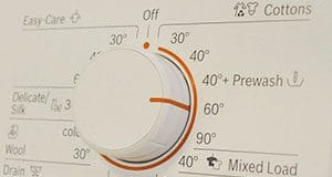 temperatura lavadora