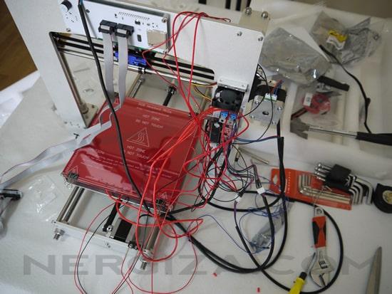 Tercer paso impresora 3D