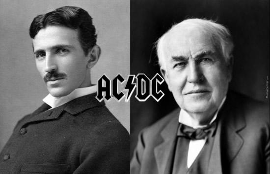 Tesla y Edison AC/DC