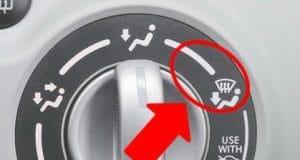 zona confort calefaccion coche